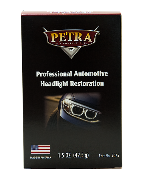 PN 9075 Professional Headlight Restoration Kit